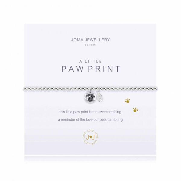 A Little Paw Print Bracelet