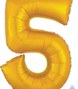 Number 5 Gold