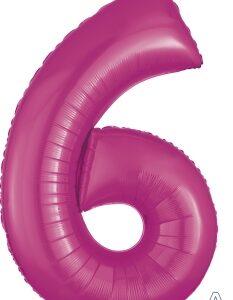 Number 6 Pink