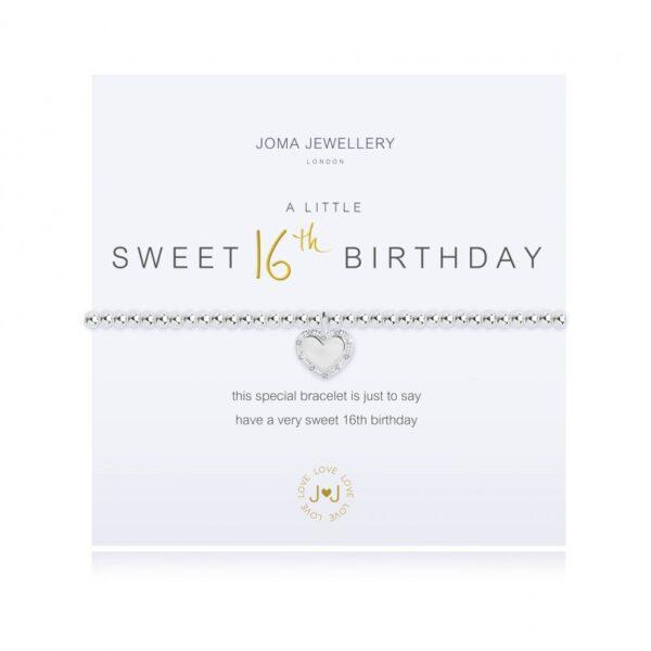 A Little Happy Sweet 16th Birthday Bracelet