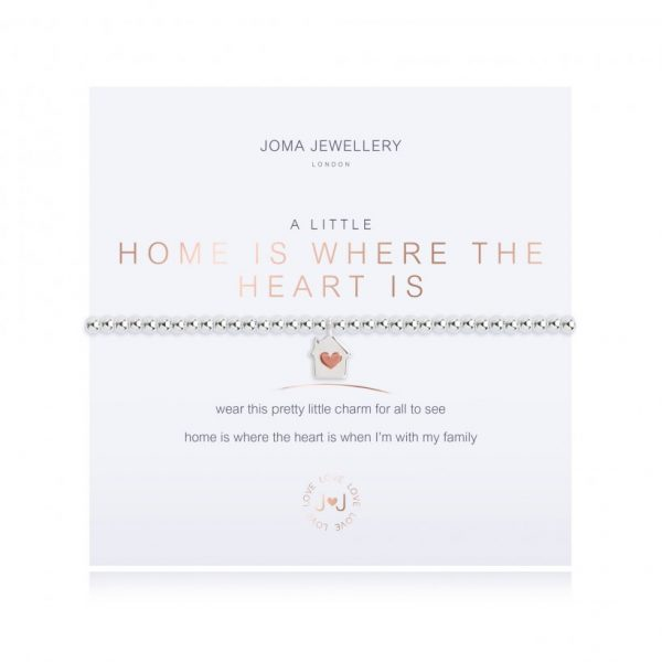 A Little Home Is Where The Home Is Bracelet