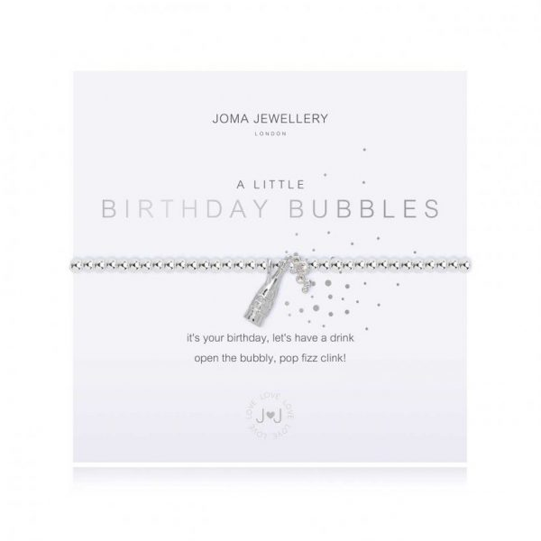 A Little Birthday Bubbles Bracelet