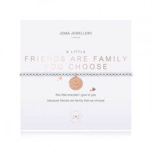 A Little Friends Are The Family You Choose Bracelet