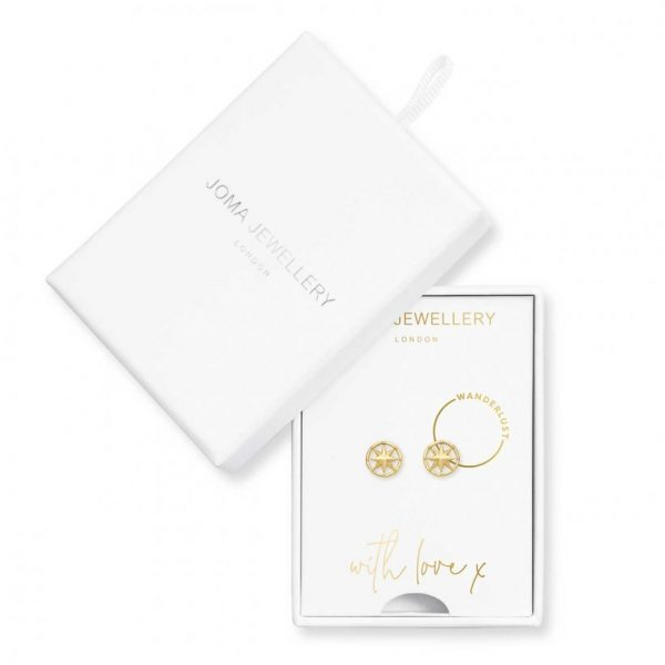 Treasure The Little Things - Wanderlust Earring Box