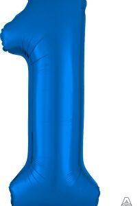Number 1 Blue