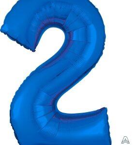 Number 2 Blue