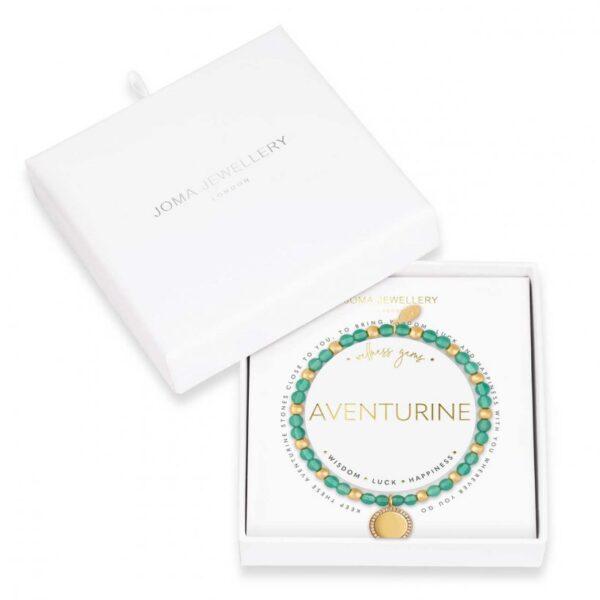 Wellness Gems - Adventurine Bracelet
