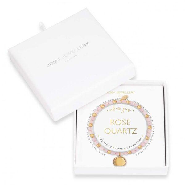 Wellness Gems - Rose Quartz Bracelet
