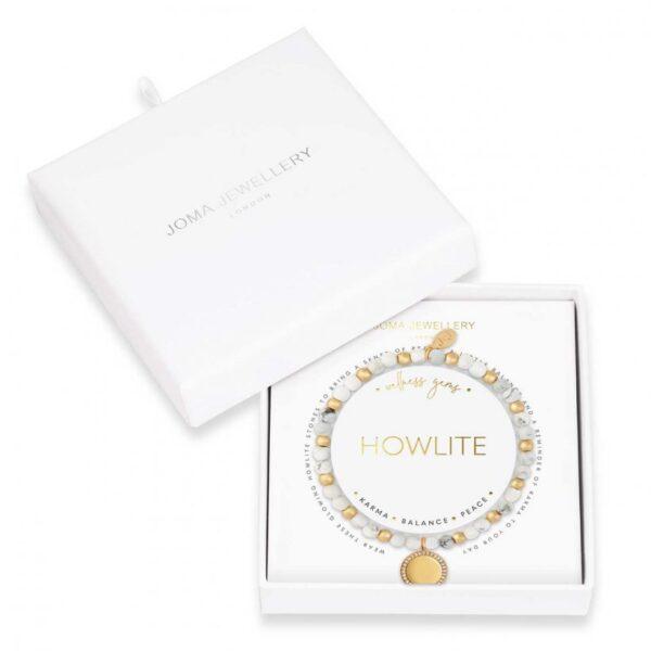 Wellness Gems - Howlite Bracelet