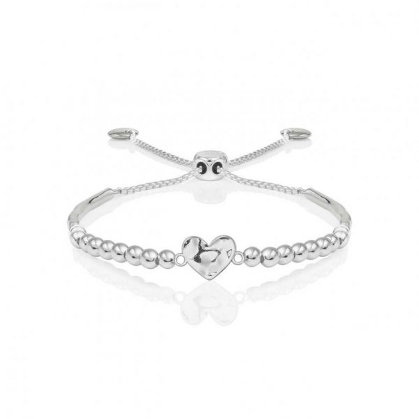 Bracelet Bar - Hammered Heart Ball Friendship Bracelet