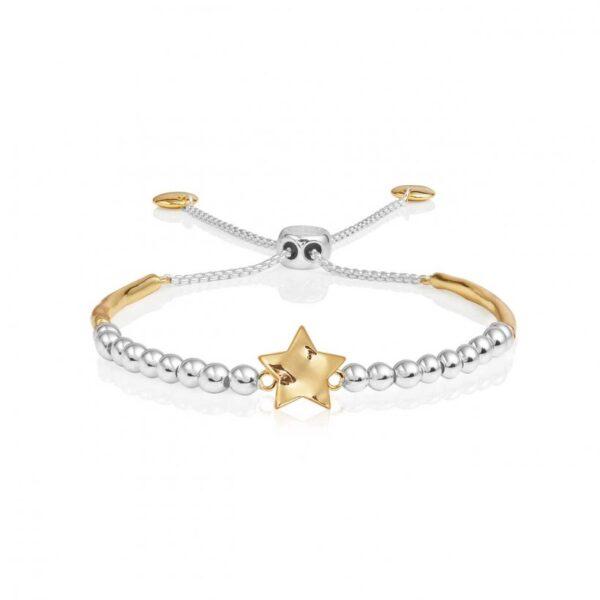Bracelet Bar - Hammered Star Ball Friendship Bracelet