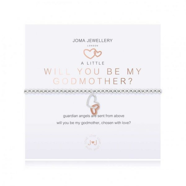 A Little Will You Be My Godmother Bracelet