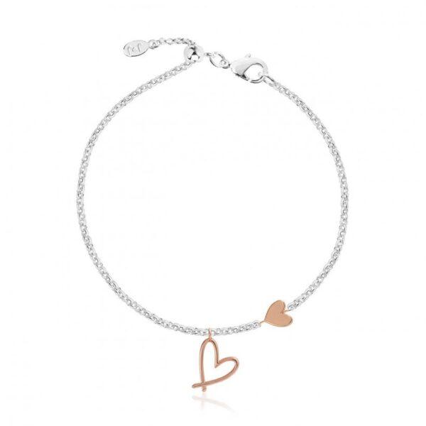 Florrie Heart Bracelet