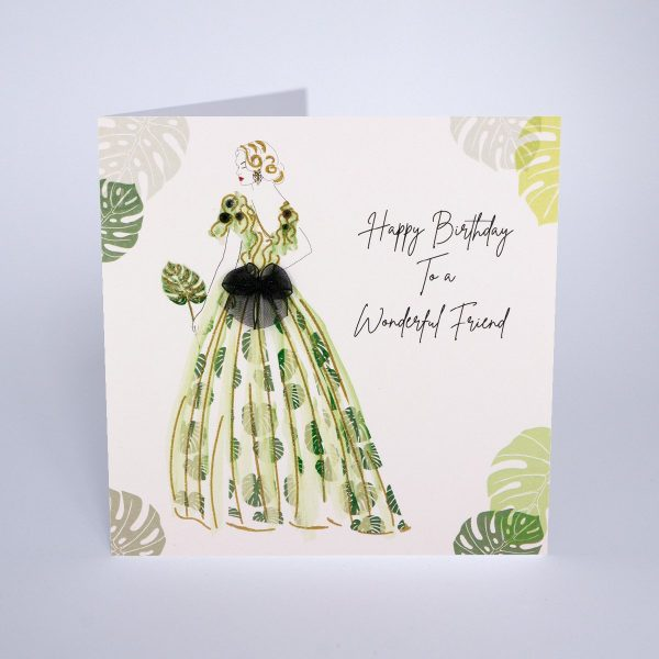 Dream Garden - Happy Birthday To A Wonderful Friend