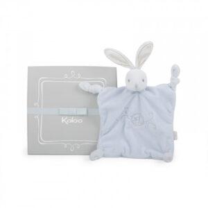 Kaloo Round Dou Dou Rabbit Comforter - Blue