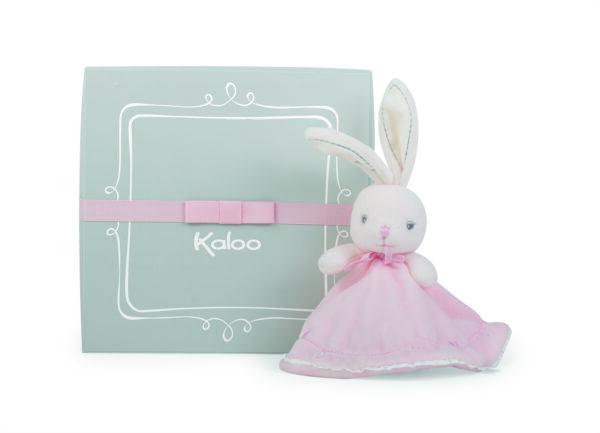 Kaloo Round Dou Dou Rabbit Comforter - Pink