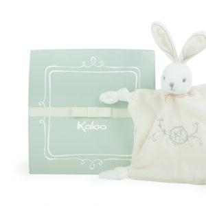 Kaloo Round Dou Dou Rabbit Comforter - Cream