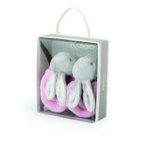 Rabbit Booties - 0-3 Months - Pink