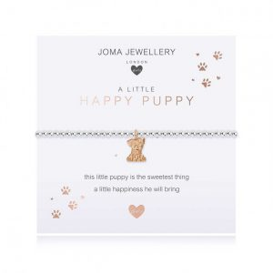 Children's A Little Happy Puppy Bracelet