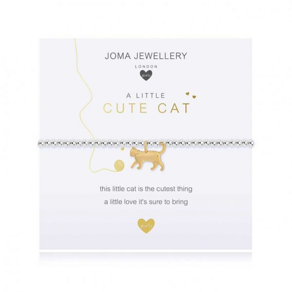Children's A Little Cute Cat Bracelet