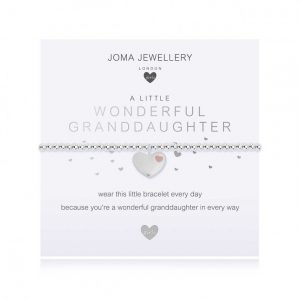 Children's A Little Wonderful Granddaughter Bracelet
