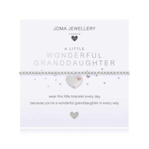 Children's A Little Wonderful Granddaughter Bracelet