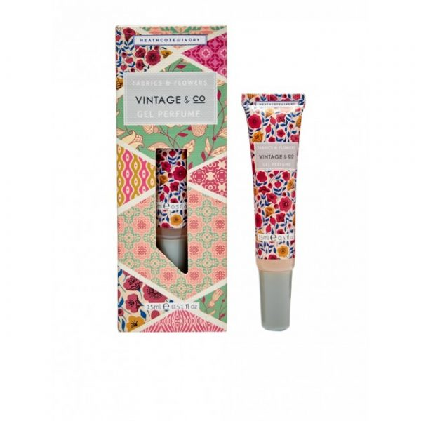 Vintage Fabric & Flowers Gel Perfume 15ml
