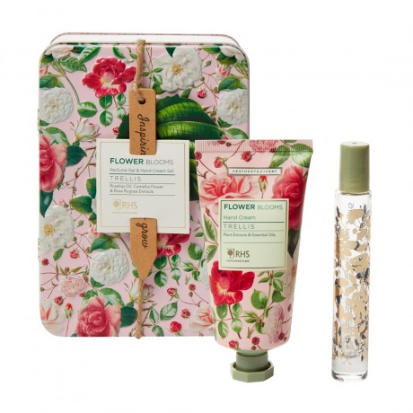 Perfume Gel & Hand Cream Set (15ml Rollerball Perfume Gel & 50ml Hand Cream)