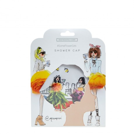 Meredith Wing Shower Cap