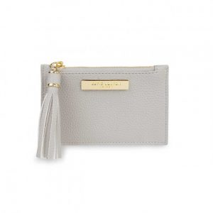 Tassel Card Holder - Stone