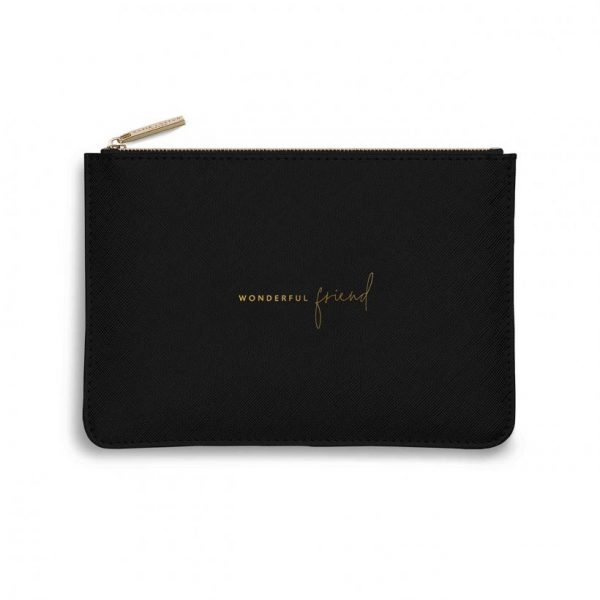Perfect Pouch - Wonderful Friend - Black