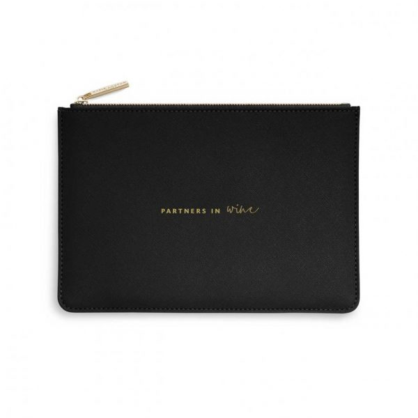 Perfect Pouch - Partners In Wine - Black