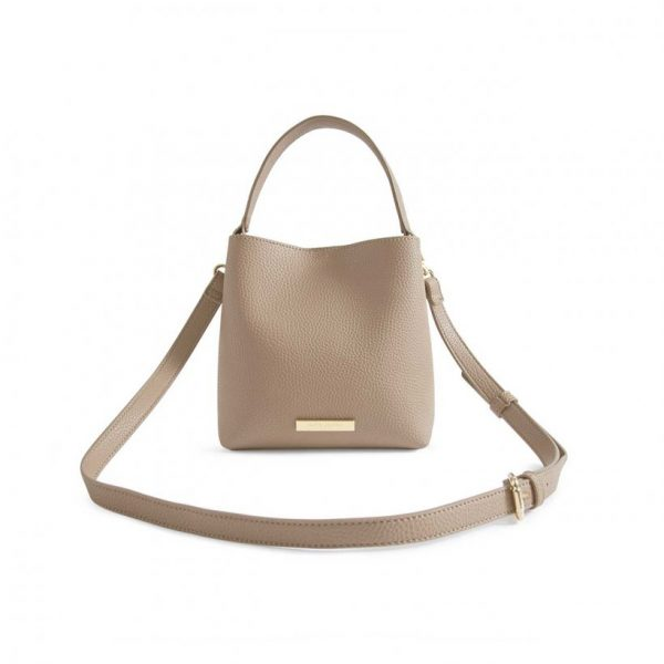 Lucie Crossbody Bag - Taupe