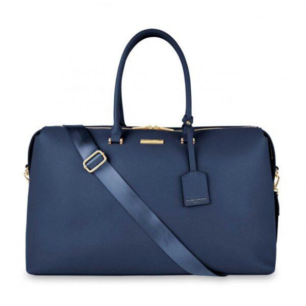 Kensington Weekend Bag - Navy Blue