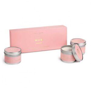 Trio Candle Box - Wonderful Mum