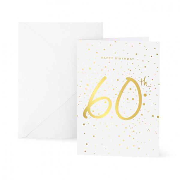 Greeting Card - Happy 60th Birthday
