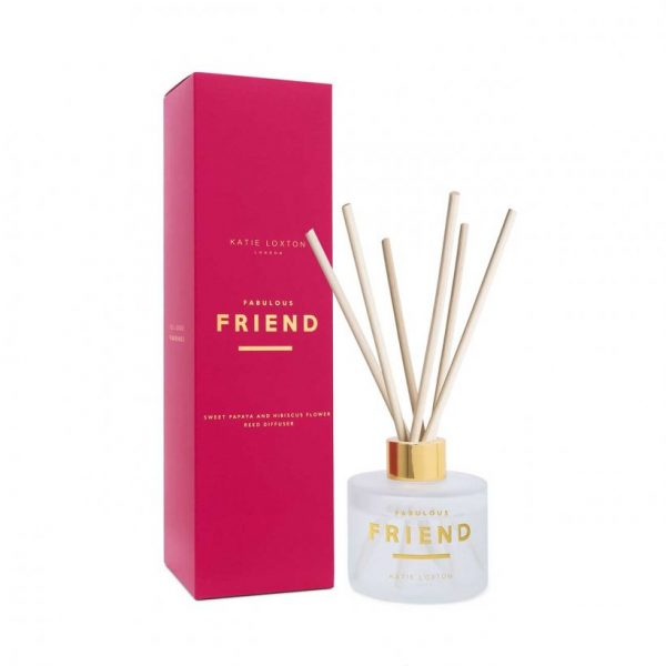Sentiment Reed Diffuser - Fabulous Friend - Sweet Papaya & Hibiscus Flower
