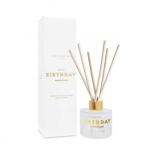 Sentiment Reed Diffuser - Happy Birthday - Pomelo & Lychee Flower