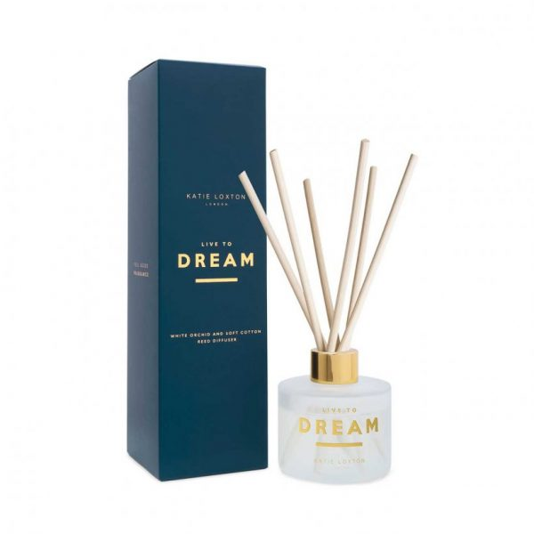 Sentiment Reed Diffuser - Live To Dream - White Orchid & Soft Cotton