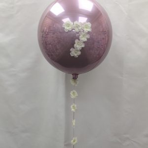 Personalised Flower Orb